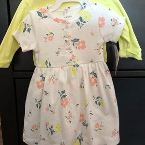 NWT Floral baby dress